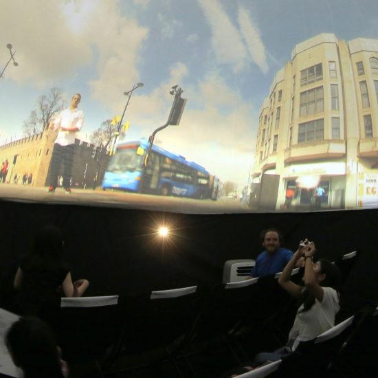 2014_第二十五屆澳門藝術節360°影像體驗《穹頂之舞》