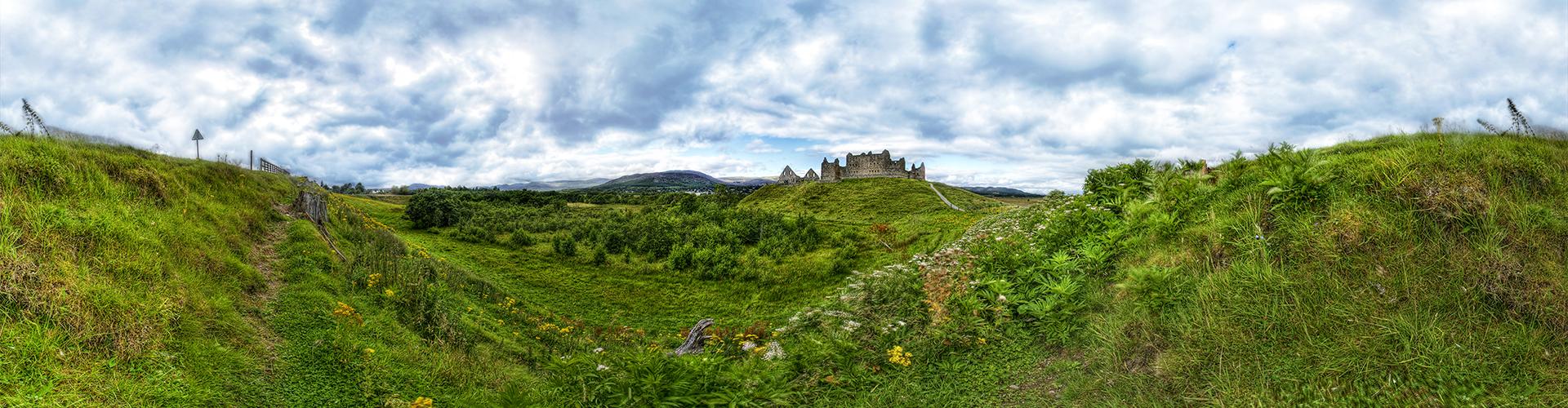 Welsh Castle 360º Panorama by Matt Wright