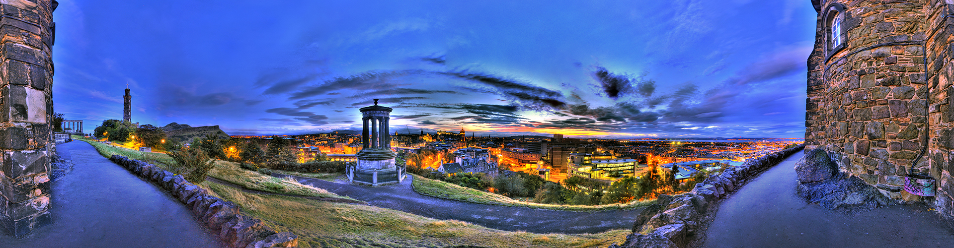 Edinburgh City  360º Panorama by Matt Wright
