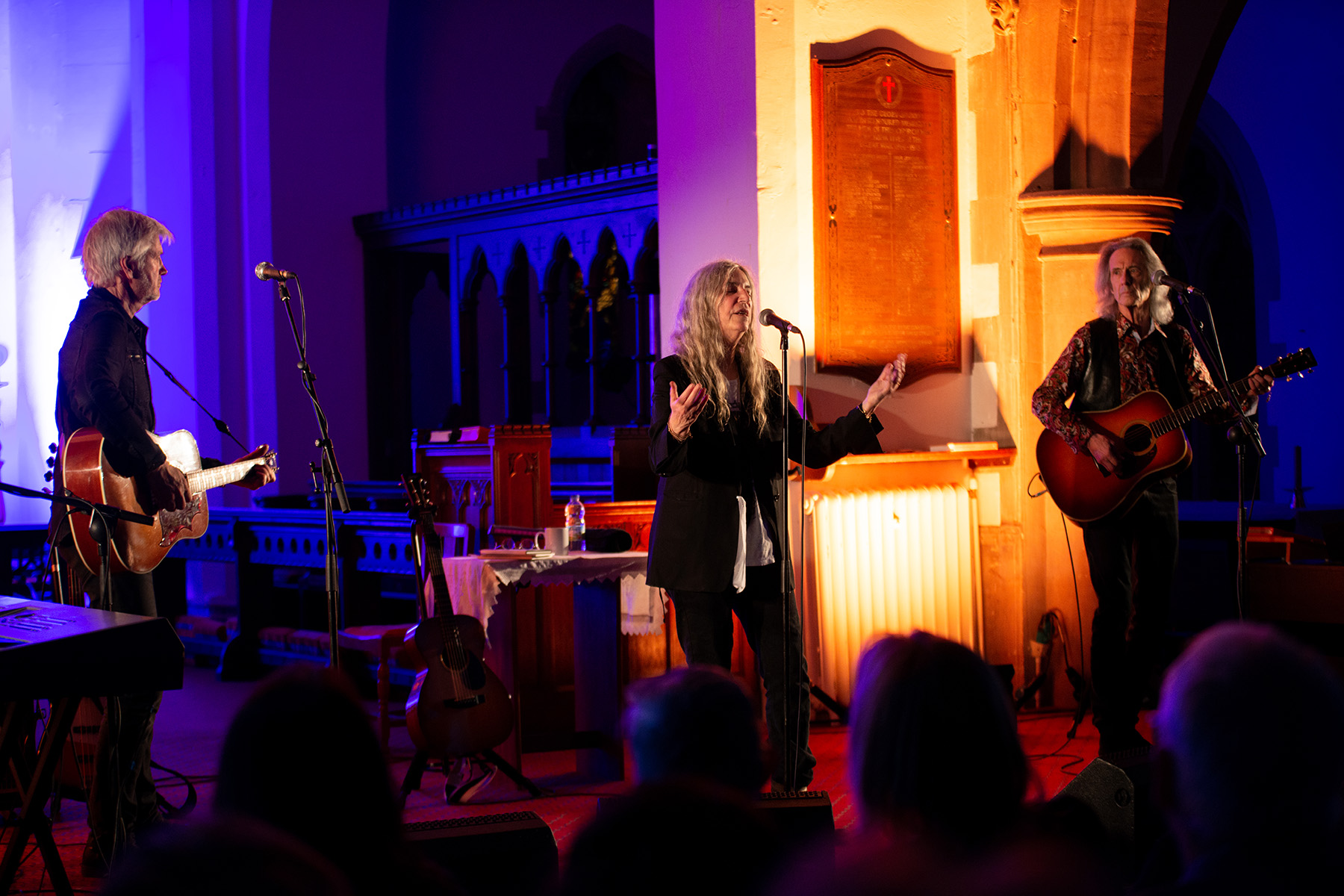 PATTI SMITH ST JOHNS CHURCH